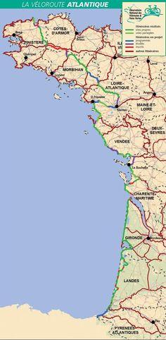 La Véloroute Atlantique... entre littoral et rétro-littoral - Départements & Régions Cyclables