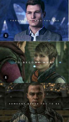 Kara, Markus, Connor