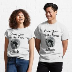 Couple Art, Love S, Designs, Classic T Shirts, T Shirts For Women, Couples, Fashion, Sleeveless Tops, Women's T Shirts