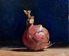 Daily paintings | Midnight onion | Postcard from Provence Julian Merrow-Smith