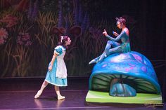 """Highlights from choreographer Kristy Nilsson's Jazz-age Ballet """"Alice in Wonderland.""""  Artistic Diorector: Diane Callahan, Annette Barcelona as Alice. Peter Swan as the Mad Hatter, Ada Spahija as the White Rabbit, Vincas Greene as the March Hare, Reagen Leimbach as the Queen of Hearts"""