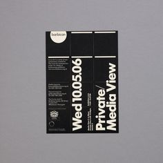 Barbican Gallery Materials by North