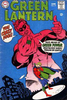 Green Lantern #61, by Gil Kane(Featuring Hal Jordan and Alan Scott)