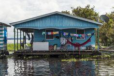 Casas flutuantes