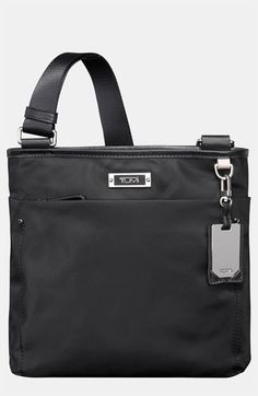 $165, Tumi Voyageur Capri Crossbody Bag Black. Sold by Nordstrom. Click for more info: https://lookastic.com/women/shop_items/72020/redirect