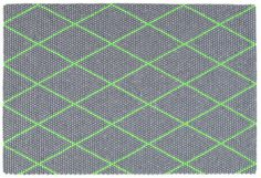 WovenGround Dot rug by Hay in green http://wovenground.net/modern/green/dot-_-large/green