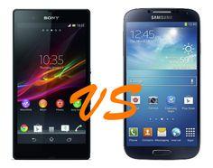 Sony Xperia Z Vs Samsung Galaxy S4 Samsung Galaxy S4, Sony Xperia, Smartphone, Messages, App, Goodies, Tech, Photography, Tecnologia
