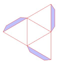 Patron d'un tétraèdre régulier Origami, Maths, Geometric Shapes, Diy Crafts, Cool Stuff, Blog, Christmas Diy, Paper Pieced Patterns, Children