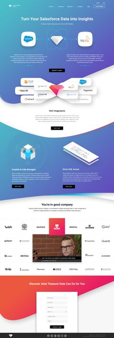 Integrations Landing Page - Full Layout - Web Design & Web Development Design Sites, Web Ui Design, Web Design Trends, Website Layout, Web Layout, Layout Design, Landing Page Inspiration, Website Design Inspiration, Portfolio Webdesign