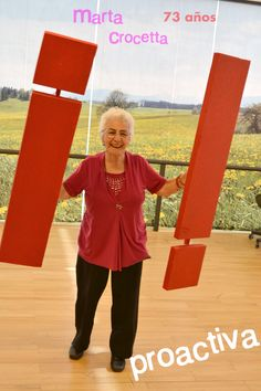 Marta Crocetta, una vieja proactiva en ¡Viejos con admiración!
