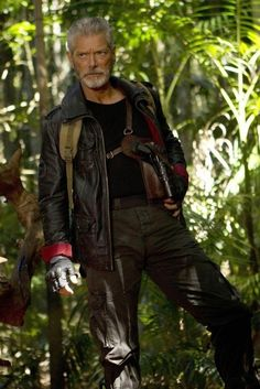 Still of Stephen Lang in Terra Nova. So like what I imagine General Treed (story character)! Think him in Avatar, then add in some '1984' plot... Perfect.