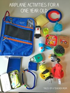 Airplane Activities for a One Year Old - Tales of a Teacher Mom
