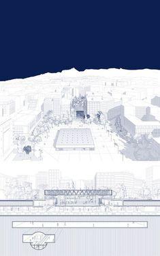ARCHISEARCH.GR - RETHINK ATHENS / TOWARDS A NEW CITY CENTER / GIORGOS ANAGNOSTAKIS, CHRYSSA KOUMANTOU, GIANMARIA SOCCI, ALKISTIS THOMIDOU / SPECIAL MENTION