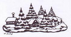 "Karte ""Winter"""