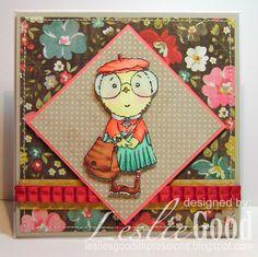 Mimi The Chick Misses You, image StampingBella