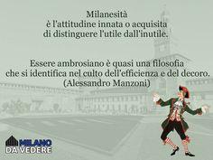 Beh se lo ha detto Alessandro Manzoni.... #milanodavedere Milano da Vedere