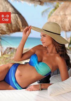 #LASCANA #Bügel #Bandeau #Bikini Raffiniert geschnittenes Modell mit modischem Farbverlauf. Getwistetes Top mit wattierten Cups und seitlichen Stäbchen für einen perfekten Halt. Abehmbare Träger, im Nacken zu binden. Top im Rücken zu schließen. Vorn gefüttert.Aus 80% Polyamid, 20% Elasthan. Futter: 100% Polyamid. <br /> Raffiniert geschnittenes Modell mit modischem Farbverlauf. Getwistetes Top mit wattierten Cups und seitlichen Stäbchen für einen perfekten Halt. Abehmbare Träger, im Nacken…