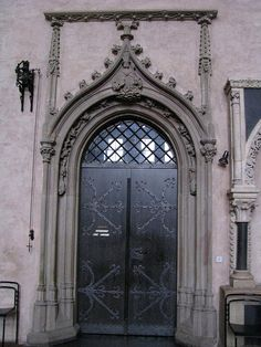 Gothic door, cathedral of Trier, Germany by j.labrado, via Flickr