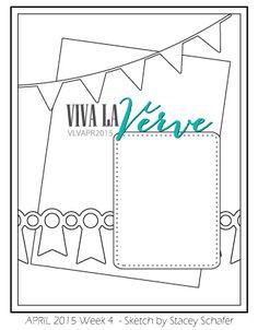 Viva la Verve April 2015 Week 4 Sketch