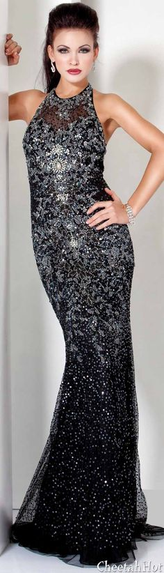 JOVANI - Gorgeous Beaded Gown..Love Jovani Gowns..better then the Big Designers..love the fit and the glam..for less the price..