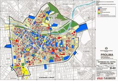 mapa inmuebles patrimoniales centro historico de lima - Buscar con Google