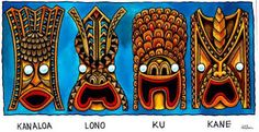 Image result for polynesian gods