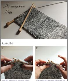 16 Awesome Ideas for DIY Christmas Decorations Art and Craft Loom Knitting, Knitting Stitches, Knitting Patterns Free, Baby Knitting, Crochet Patterns, Crochet Quilt, Knit Or Crochet, Herringbone Stitch Knitting, Diy Scarf