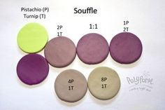 New Color Tuesday – Souffle color mix