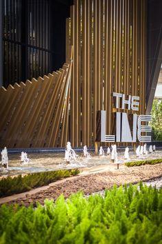 The Line Condominium Sales Gallery   Bangkok Thailand   Shma