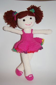 Lily Doll <3 - Dress looks like another dress on Lily just in different yarn. Amazing the different looks with just minor changes!
