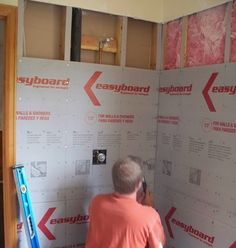have to read to see if this is what we saw on mike holmes :-)  for our bathroom renovation