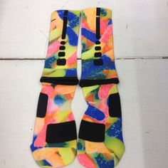 "Nike Elite Socks "" Gummy Worms"" from Sock Insanity"