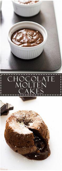 Chocolate Molten Cakes | Marsha's Baking Addiction