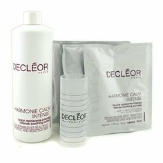 Decleor Mask Pro Face Sensitive (Salon Size) - 5 treatments by Decleor. $108.71. 5 treatments. This treatment mask includes: 1 x Harmonie Calm Intense Soothing Lotion (500ml/16.9oz): Formulated with Essential Oils of Rose & Roman Camomile 5 x Harmonie Calm Intense Soothing Powder (30g/1.05oz) Contains Butcherbroom & Bilberry dried Extracts Unveils a calmer & relieved complexion For professional use only To use: Pour Soothing Powder into the attached bowl. Add 95ml of Soothin...