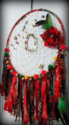 Gypsy dream catcher Dream catcher wall hanging by FineBubbles