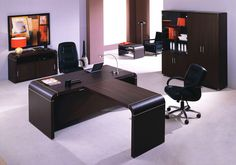 Home Commander Italian Modern Office Desk