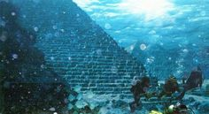 Pyramids found off of Portugal coast,  underwater.
