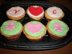 Cupcakes para regalárselas a su novio!!