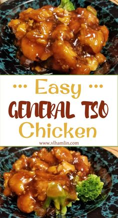 Easy General Tso Chicken Searching for an easy takeout recipe you can make at home? Try this Easy General Tso Chicken – you'll never want to eat out again! General Chicken Recipe, General Tao Chicken, Sauce For Chicken, Easy Chicken Recipes, Chinese Food Recipes Chicken, Chicken Treats, Chinese Chicken Dishes, Seafood Recipes, Gastronomia