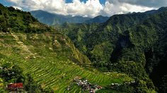 Batad Rice Terraces is a UNESCO World Heritage Site. The landscape is truly stunning and is one of the must to visit tourist place in the Northern part of the Philippines. Rice Terraces, Drone Photography, Heritage Site, Manila, Filipino, Philippines, Tourism, Spanish, Island