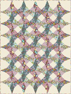 free tutorial for this kaleidoscope quilt