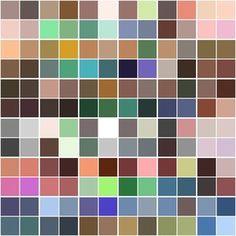 {Wardrobe Planning} My Custom Color Palette