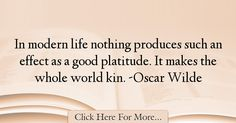 Oscar Wilde Quotes About Good - 28938