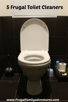 5 Easy Frugal Toilet