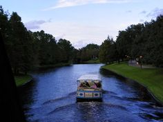Boat from Port Orleans French Quarter to Downtown Disney!