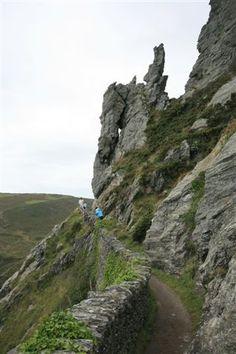 Salcombe - coastal path  Devon, UK