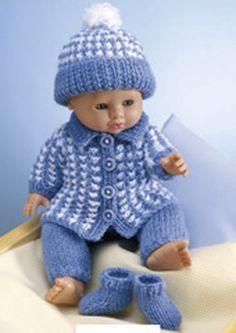 dolls clothes knitting patterns uk free