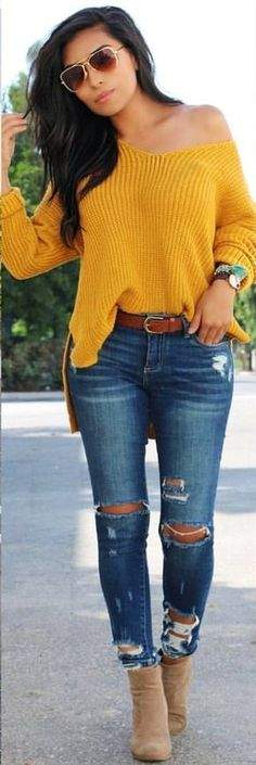 Like the jeans.. not yellow-at least for me