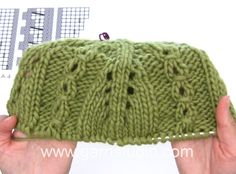 DROPS Knitting Tutorial: How to work the hat in DROPS 164-39 after chart...