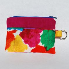 RESERVED FOR JACQUI Change Purse Wallet Zipper by mylifeinfabric, $14.00